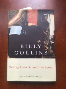 Image of Billy Collins' book, Sailing Alone Around the Room